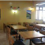 Fatih Sultan Mehmet Öğrenci Yurdu yemek salonu
